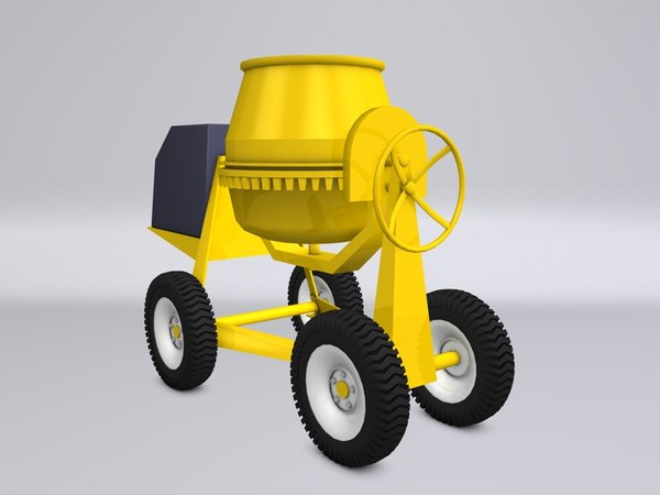 3ds polly concrete cement mixer - Concrete Mixer... by r3b3lr3b3l