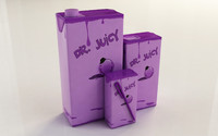 3d tetrapak dr juicy model