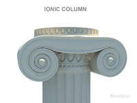 Greek Column Ionic
