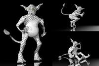 3d 3ds sci-fi fantasy creature