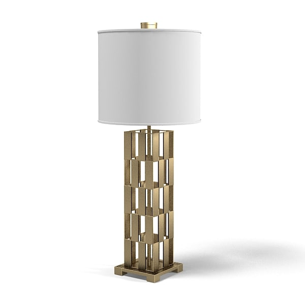 Table Lamp Modern 3d Model