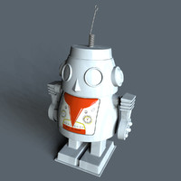 Windup Toy Robot