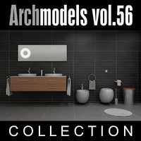3d archmodels vol 56 bathroom sinks