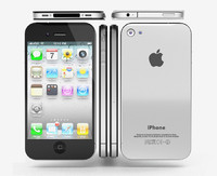 3d model realistic apple iphone 4g