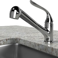 Kitchen Faucet Sink Modern Contemporary Elegant Set Lavatory