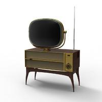 3ds vintage television predicta