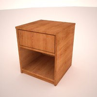 3d night stand end table