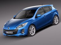 mazda 3 hatchback sedan 3ds