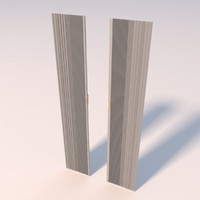 3ds max folding closet doors