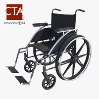 3d wheel chair model