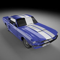 Mustang Shelby GT500 1967