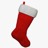 3d christmas stocking