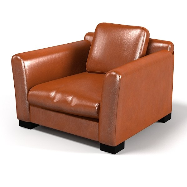 Baxter Diner Leather chair armchair club traditional modern contemporary.jpg