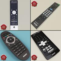3d model remotes v4