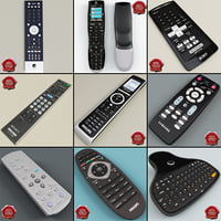 projector remote 3D models