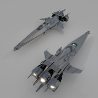 blender spaceship
