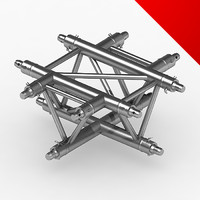 truss eurotruss parts 3ds