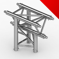3d model truss eurotruss parts