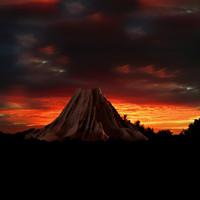 3dsmax inactive volcano