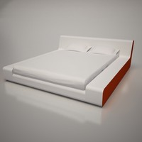 3d model bed monza frighetto