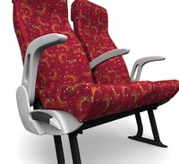 3d version seats model