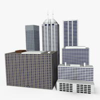 city cityscape 3d 3ds