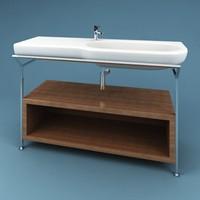 3dsmax bathroom sink