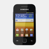 3d samsung galaxy y s5360 model