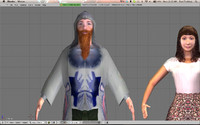 3dsmax character pack males females