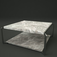 portfolio table real-time ready 3d model
