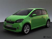 3d model skoda citigo 2012