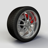 Wheel ZNA 427 rim and tire