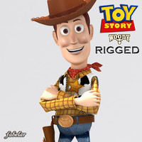 WOODY RIGGED