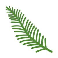3dsmax leaf xmas