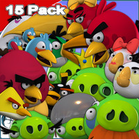 15 Pack: Angry Birds