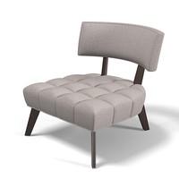 3d brentwood hostess chair