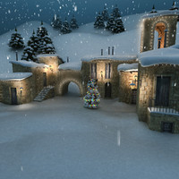 max medieval village christmas