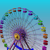 3d skywheel