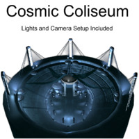 coliseum cosmic 3d 3ds