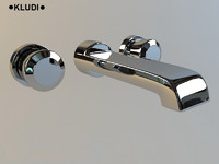 3d model faucet washstand kludi joop!
