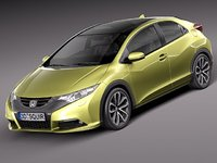 3d honda civic 2012 eu