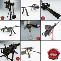 Machine Guns Collection V3