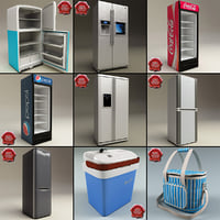 Refrigerators Collection V4
