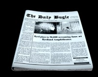 3d model news newspaper paper
