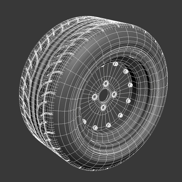 ssr mk1 wheel 3d 3ds - SSR mk1 Wheel... by Free_Fall