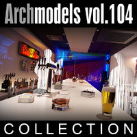 archmodels vol 104 clubs 3d model