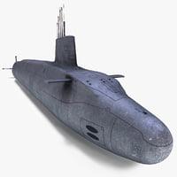 3ds vanguard class submarine