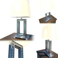 table lamp - 3d model