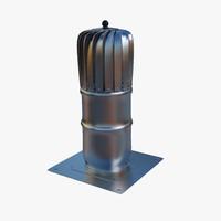 roof vents 3d model