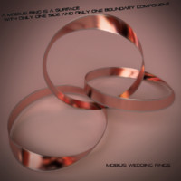 Mobius Wedding Rings